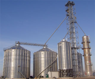 Grain Dryers Installed