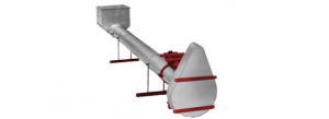 Hutchinson Round Tube Conveyors - Hutchinson Custom Built Distributing Augers