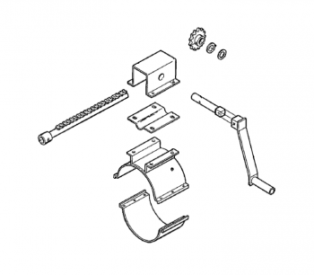 """Hutchinson - Hutchinson Electric Rack & Pinion Control for 10"""" Commercial Loop System"""