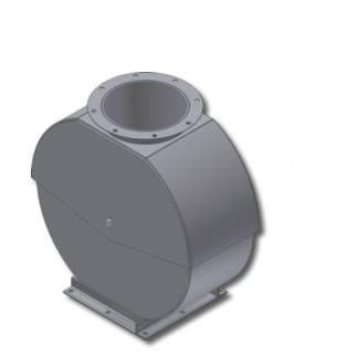"RIPCO Distribution - 6"" RIPCO Distribution 10GA Adjustable Cushion Box - Painted"
