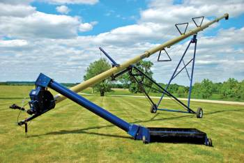 Harvest International - Super A Frame Series 72' Harvest International Swing Away Auger