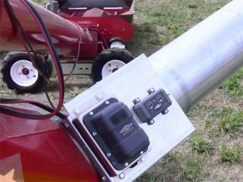 """Hutchinson - 10"""" Hutchinson Optional Swing-Away Hopper With Remote 12VDC Drive Kit"""