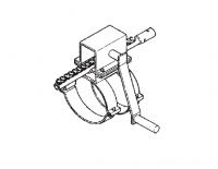 "6"" Hutchinson Control Rod Rack & Pinion Assembly"