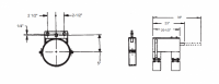 """8"""" Hutchinson Commercial Control Rod Guide"""