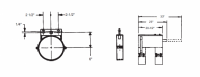 """10"""" Hutchinson Commercial Control Rod Guide"""