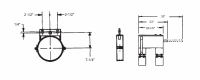 """12"""" Hutchinson Commercial Unload System Parts - 12"""" Hutchinson Commercial Bin Wells & Accessories - Hutchinson - 12"""" Hutchinson Commercial Control Rod Guide"""