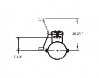 """12"""" Hutchinson Commercial Unload System Parts - 12"""" Hutchinson Commercial Bin Wells & Accessories - Hutchinson - 12"""" Hutchinson Commercial Rack & Pinion Control"""