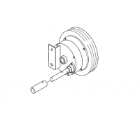 Hutchinson Commercial Klean Sweep Accessories - Hutchinson 68 Series Accessories - Hutchinson - Hutchinson Reduction End Wheel for 68 Series 4-1 Ratio