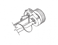 Hutchinson Commercial Klean Sweep Accessories - Hutchinson 1012 Series Accessories - Hutchinson - Hutchinson Reduction End Wheel for 1012 Series 9.46-1 Ratio