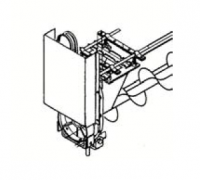 Hutchinson Commercial Klean Sweep Accessories - Hutchinson 1214 Series Accessories - Hutchinson - Hutchinson 1214 Series Replacement Head Drive for 80' to 120' Bins