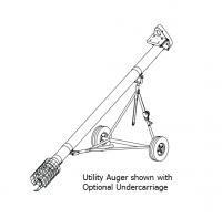 "Hutchinson Utility Augers - 6"" Hutchinson Utility Augers - Hutchinson - 6"" x 33' Hutchinson Utility Auger"