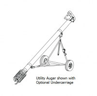 "Hutchinson Utility Augers - 10"" Hutchinson Utility Augers - Hutchinson - 10"" x 11' Hutchinson Utility Auger"