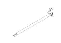 "10"" Hutchinson Custom Built Augers - 10"" Hutchinson Custom Components with Drives - Hutchinson - 10"" x 21' Hutchinson Standard Duty Custom Component with Drive and Internal Bearing - 2B"