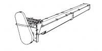 "9"" Hutchinson Custom Built U-Trough Conveyors - 9"" Hutchinson U-Trough & Flight - Hutchinson - 9"" Hutchinson 3/8""GA U-Trough Conveyor"