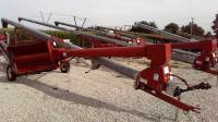 "Used & Refurbished Equipment - New 13"" x 62' Hutchinson Swing Away Auger"