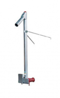 "Hutchinson - 10"" Hutchinson 10HP Commercial Double Drive Vertical Auger for 8"" Horizontal"