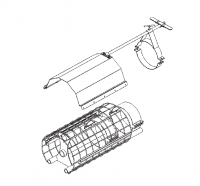 "Hutchinson Stationary Screw Conveyor Accessories - 14"" Hutchinson Stationary Screw Conveyor Accessories - Hutchinson - 14"" Hutchinson Control Gate"