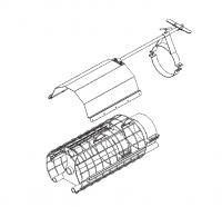 "Hutchinson Stationary Screw Conveyor Accessories - 8"" Hutchinson Stationary Screw Conveyor Accessories - Hutchinson - 8"" Hutchinson Control Gate"