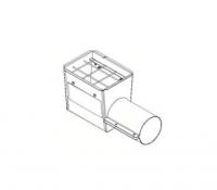 "Hutchinson Stationary Screw Conveyor Accessories - 8"" Hutchinson Stationary Screw Conveyor Accessories - Hutchinson - 8"" Hutchinson Hopper Tail Piece"