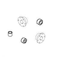 "Hutchinson Flighting & Accessories - Hutchinson Bushings - Hutchinson - 1.655"" - 1.505"" Hutchinson Spindle Bushing"