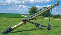 "Used & Refurbished Equipment - New 13"" x 32' Harvest International Top Drive Auger"