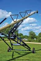 "Used & Refurbished Equipment - New 10"" x 82' Harvest International Swing Away Auger"