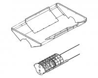 "Hutchinson Portable Auger Accessories - 12"" Hutchinson Portable Auger Accessories - Hutchinson - 12"" Hutchinson Bolt-On Hopper"