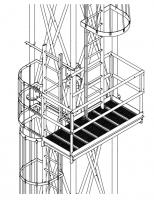 Grain Pump Loop Conveyors - Brownie Supports for Grain Pump Loop Systems - Brownie Systems - Brownie Ladder Package for Grain Loop System