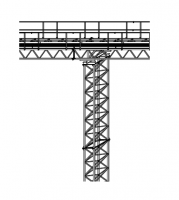 Support Towers - Brownie Support Towers - Brownie Systems - Brownie RS2844 Catwalk Support Tower