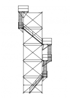 Brownie Systems - Brownie Support Towers - Brownie Systems - Brownie Support Tower Stairway