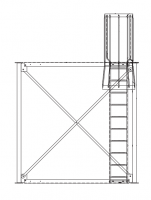 Brownie Systems - Brownie Support Towers - Brownie Systems - Brownie T2 Support Tower Ladder Package with Step Thru