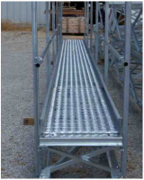 Catwalks - Honeyville Manwalks & Conveyor Supports - Honeyville  - Honeyville Manwalk