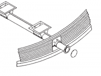 "12"" Hutchinson Commercial Unload System Parts - 12"" Hutchinson Commercial Bin Wells & Accessories - Hutchinson - Hutchinson Tube Cap for 12"" Auger Unloader"