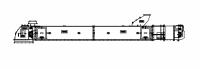 MFS/York Drag Conveyors - MFS/York Flat/Horizontal Drag Conveyors - MFS/York - MFS/York Enclosed Belt Drag Conveyors - Model E36 and E48