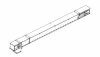 """Flat/Horizontal Drag Conveyors - MFS/York Flat/Horizontal Drag Conveyors - MFS/York - 12"""" x 14"""" MFS/York Drag Conveyor D07"""