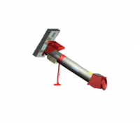 """Hutchinson 8"""" Tube to 10"""" Incline 25° Unloading Kit with Hydraulic Drive"""