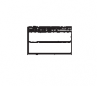 "Hutchinson Model 50 Mass-Ter Mover - Hutchinson Model 50 Mass-Ter Mover Trunking - Hutchinson - 2'6"" Hutchinson Trunking with Bolt-On Top Cover for Model 50"
