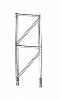 Greene Support Towers & Accessories - Greene Support Tower Accessories - Greene - 10' Greene Extension for Wall Mounted Support with 2 Stiffener Tank