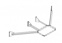 Greene Support Towers & Accessories - Greene Support Tower Accessories - Greene - Greene Tower Stand Off to Bin Bracket Close