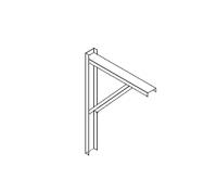 "Greene Manwalks, Conveyor Supports, & Mounts - Greene Mounts for Manwalks - Greene - 48"" Greene A Frame Kneebrace"