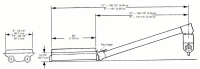 """Hutchinson - 8"""" X 62' Hutchinson Swing-Away Gear Drive Auger - Image 3"""