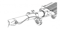 """12"""" Hutchinson Optional Swing-Away Hopper With Hydraulic Drive Kit"""