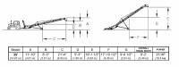 Hutchinson Squeeze Belt Conveyors - Hutchinson Squeeze Belt Conveyors - PTO - Hutchinson - 35' Hutchinson Portable Squeeze Belt Conveyor - PTO