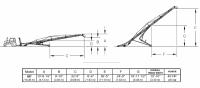 Hutchinson Squeeze Belt Conveyors - Hutchinson Squeeze Belt Conveyors - PTO - Hutchinson - 60' Hutchinson Portable Squeeze Belt Conveyor - PTO