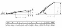Hutchinson Squeeze Belt Conveyors - Hutchinson Squeeze Belt Conveyors - PTO - Hutchinson - 70' Hutchinson Portable Squeeze Belt Conveyor - PTO
