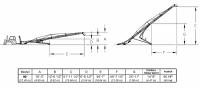 Hutchinson Squeeze Belt Conveyors - Hutchinson Squeeze Belt Conveyors - PTO - Hutchinson - 90' Hutchinson Portable Squeeze Belt Conveyor - PTO