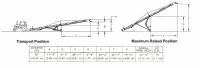 Hutchinson Portable Belt Conveyors - Hutchinson Portable Belt Conveyors - Hutchinson - 60' Hutchinson Portable Belt Conveyor - PTO