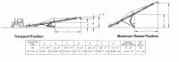 Hutchinson Portable Belt Conveyors - Hutchinson Portable Belt Conveyors - Hutchinson - 70' Hutchinson Portable Belt Conveyor - PTO